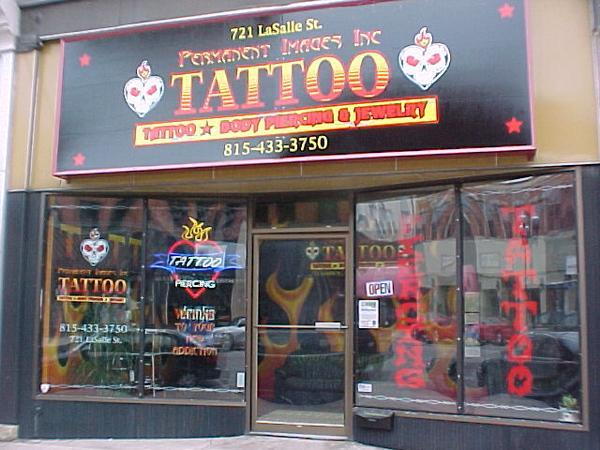 Permanent images tattoo body piercing ottawa il 61350 for Tattoo shops in illinois