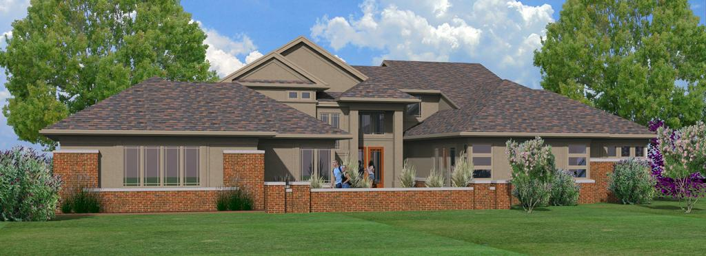 Prairie style addition remodel from krupp associates for Prairie style characteristics