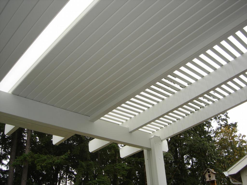 Aluminum Patio Roof Panels Photo Gallery Of Traditional