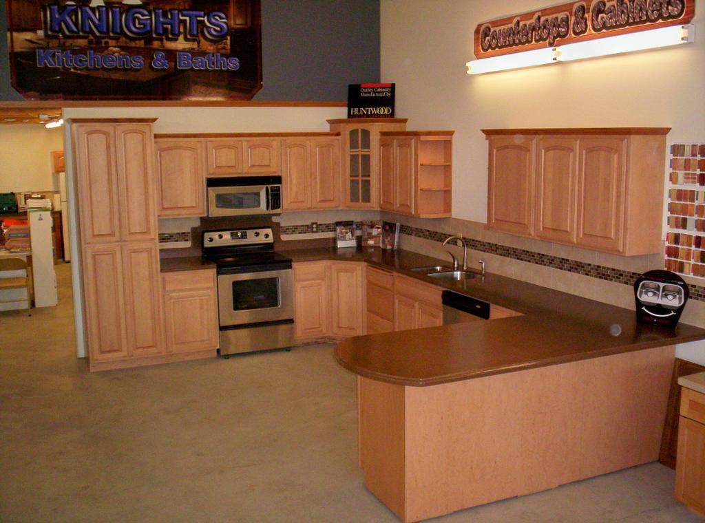 Kitchen Countertop Stores : KITCHEN DISPLAY -1 by Knights Kitchens & Baths Countertop Store