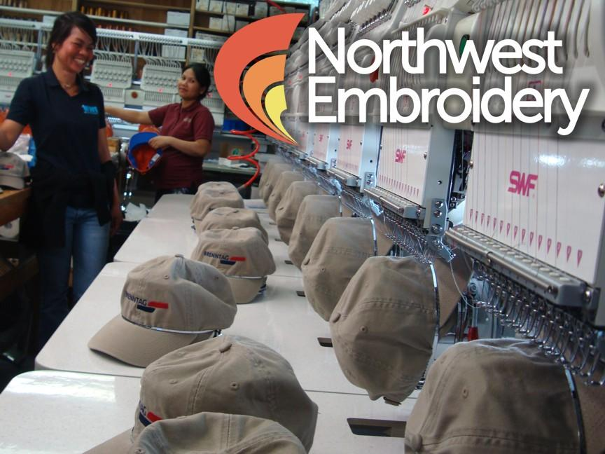 northwestembroidery_newlogo.jpg provided by Northwest Embroidery Inc Milton 98354
