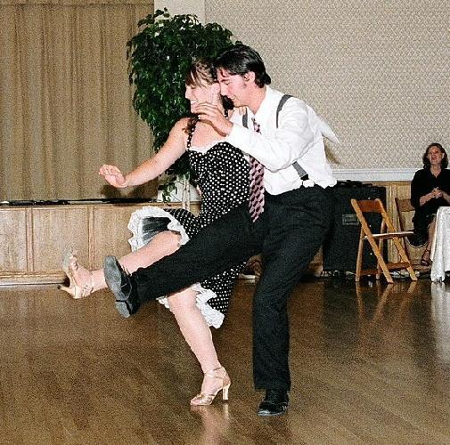 Joel and Hannah Lindy by U and Me Dance at the Majestic, Ballroom & Latin Dance Studio