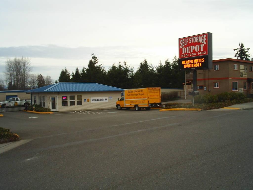 Lake Stevens Self Storage Depot Lake Stevens Wa 98258
