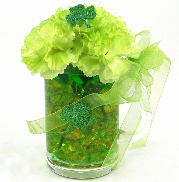 Beer Mug Flower Bouquet