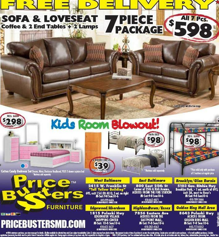 Discount Furniture Stores In Baltimore Md Price Busters Discount Furniture Baltimore Md