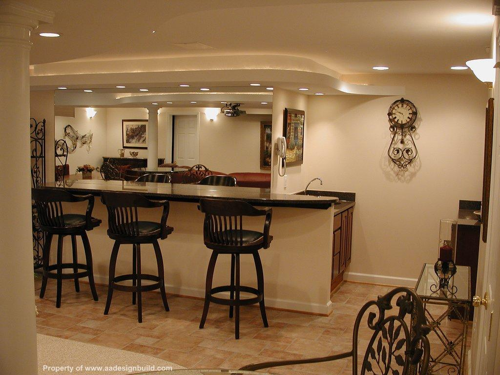 Home bar design ideas for basements home design architecture - Basements by design ...