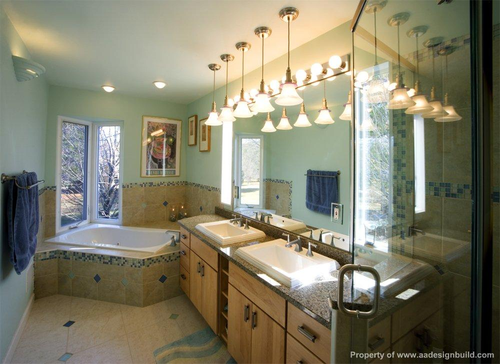 Master Bathroom Design And Remodeling Corner Tub Corner Shower Corner Window Gaithersburg