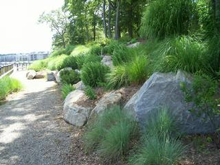 Pictures of annapolis maryland waterfront living for Waterfront landscape design