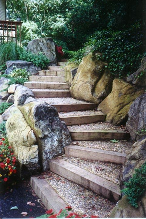 Retaining walls in Maryland Living Wall Steps from