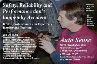 Auto Sense Auto Repair & Tire Center - Millersville, MD