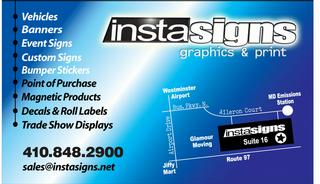 Instasigns - Westminster, MD