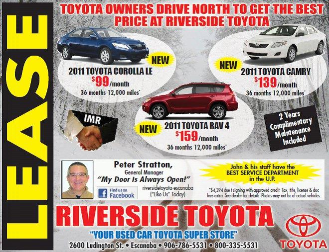 Toyota Lease Specials, Lease a Toyota.