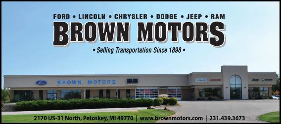 brown motors petoskey chrysler dodge jeep ram ford