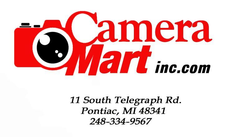 Camera Mart Incorporated Pontiac Mi 48341 248 334 9567