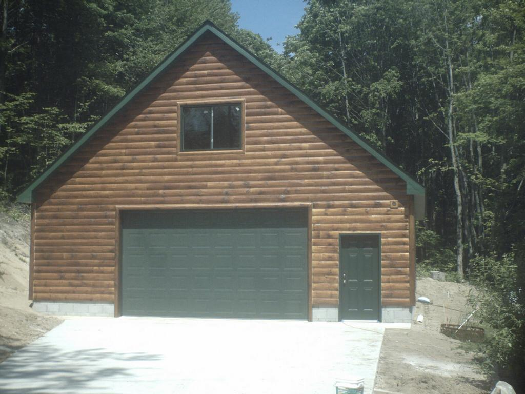 Pictures for ac construction in gaylord mi 49735 for Two car garage with loft