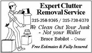 Expert Clutter Removal Service - Port Byron, NY