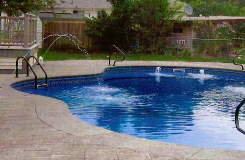 Pictures for holiday pool patio custom swimming pool - Swimming pool installation companies ...