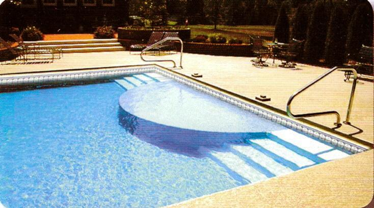 Pictures for holiday pool patio custom swimming pool for Inground swimming pool installation