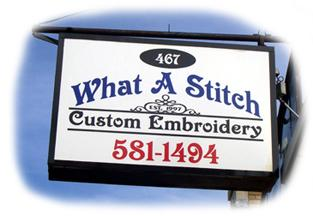 What A Stitch Custom Embroider - Rochester, NY