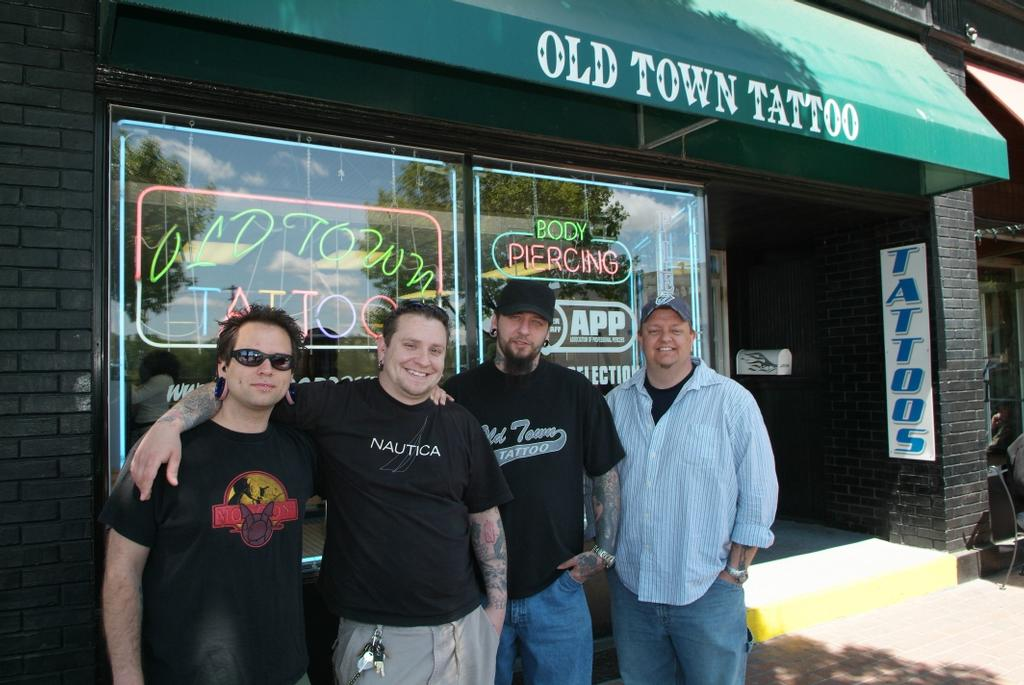 Old Town Tattoos For Old Town Tattoo
