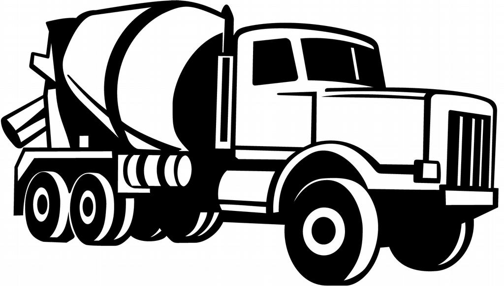 ... Cement Truck Concrete Mixer Clip Art. on real furniture clip art
