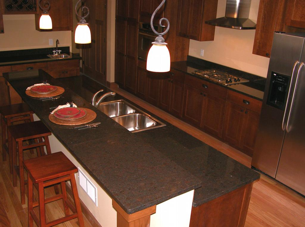 Coffee Brown Granite Kitchen : Pictures for stone source inc in minneapolis mn