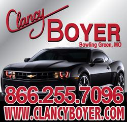 Clancy boyer chevrolet bowling green mo 63334 877 764 3529 for Clancy motors used cars