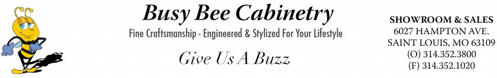 Busy Bee Cabinetry Fax Header