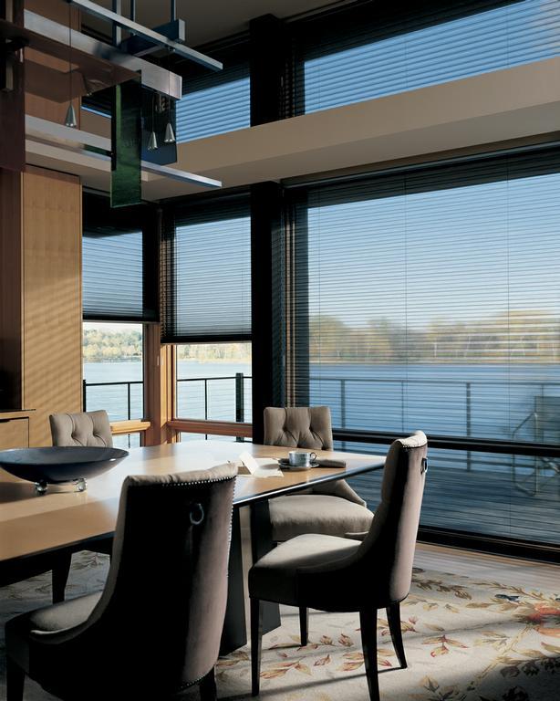 alduette_ultraglide_diningroom alduette_vertiglide_livingroom by one stop decorating center northland - One Stop Decorating