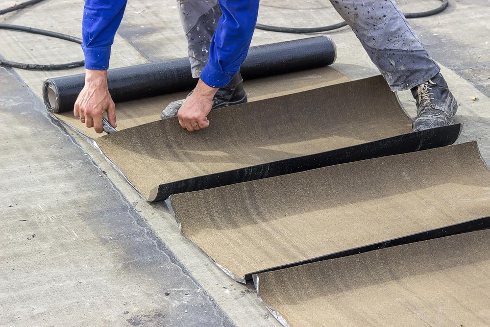 How to Use Roofing Felt as a Weed Barrier - Articles