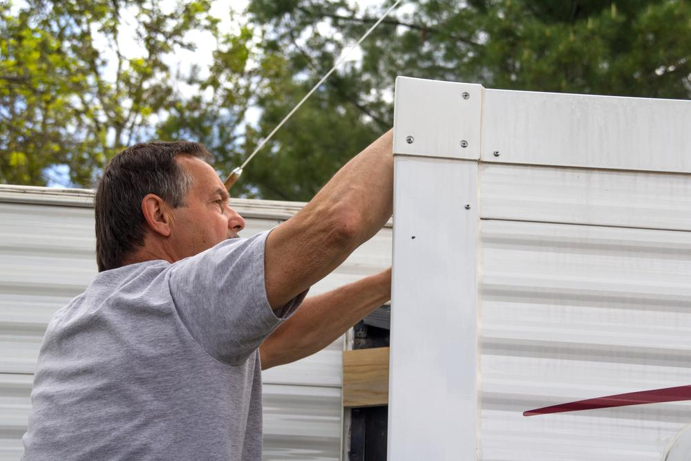 How To Repair Holes In Mobile Home Skirting Articles